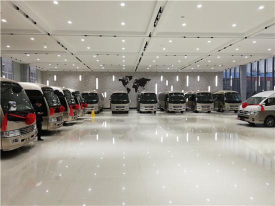 丰田考斯特10座 新款考斯特10座豪华版